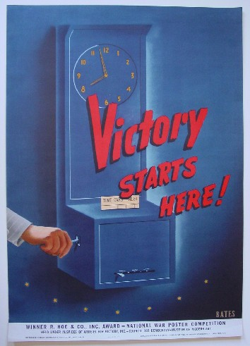 Victory WW2 poster